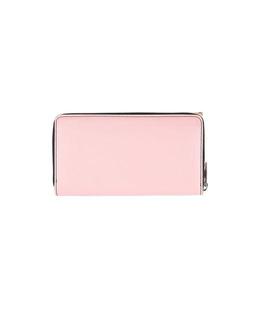 Alexander McQueen Pink Brieftasche