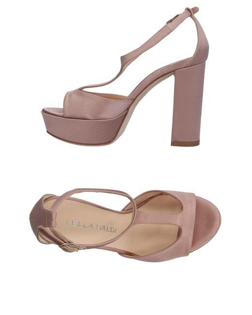 Lella Baldi   Pink Sandals   Lyst