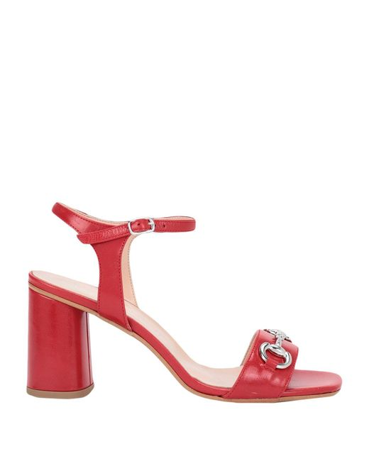 Sandales Bianca Di en coloris Red