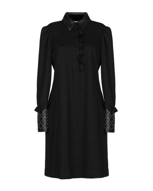 Maria Grazia Severi Black Kurzes Kleid