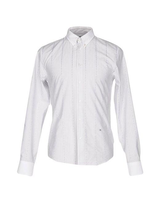 John Richmond - Gray Shirts for Men - Lyst