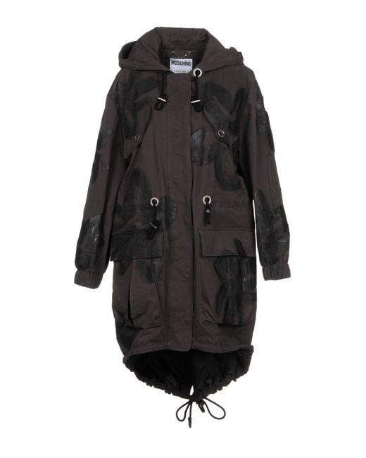 Moschino - Multicolor Overcoat - Lyst