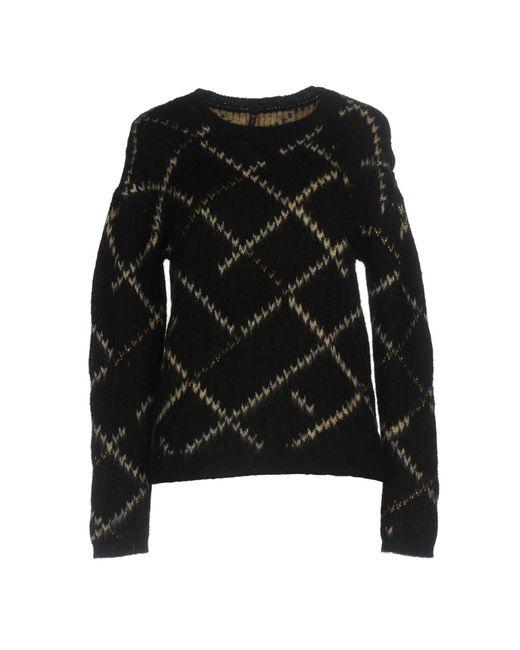 Manila Grace - Black Sweaters - Lyst