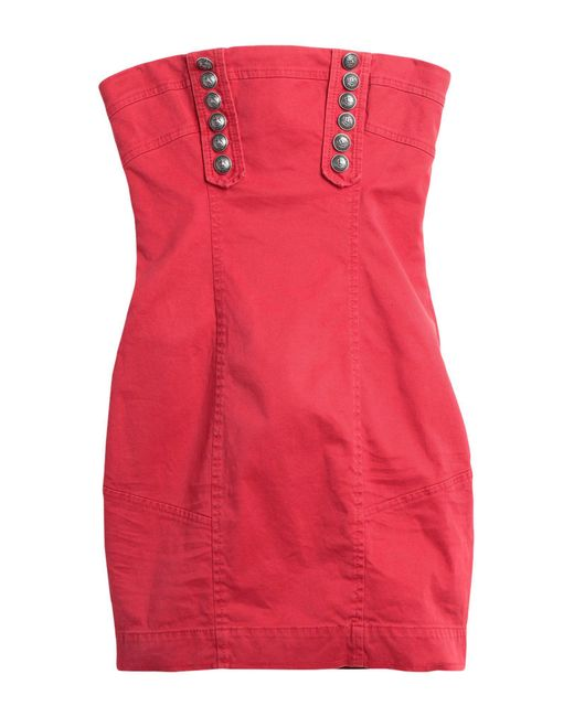 DSquared² Red Short Dress