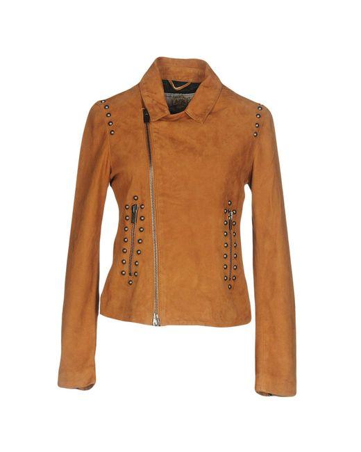 Vintage De Luxe - Brown Jackets - Lyst
