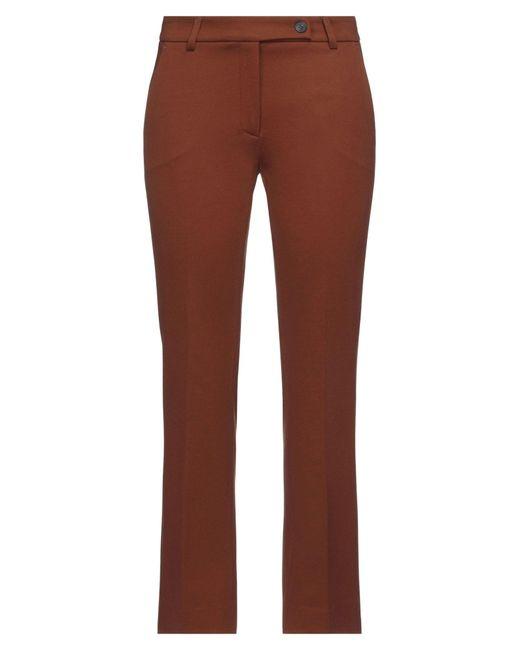 Via Masini 80 Brown Casual Trouser