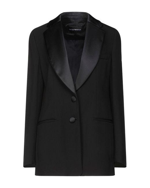 Emporio Armani Black Suit Jacket