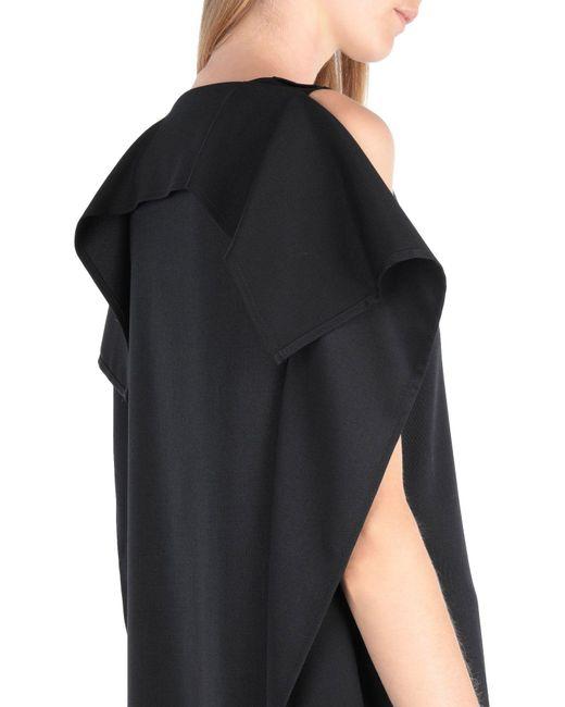 Vestido largo MM6 by Maison Martin Margiela de color Black