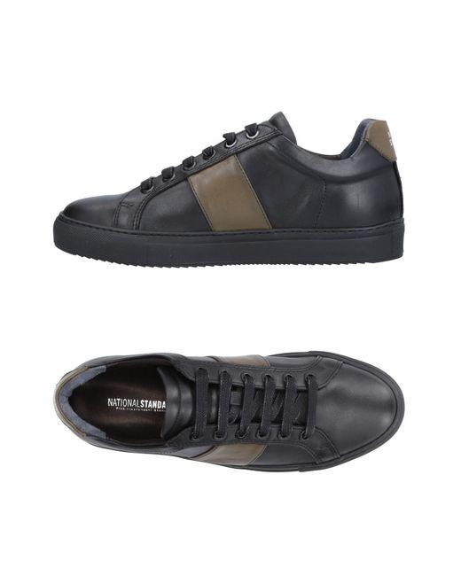 National Standard Black Low-tops & Sneakers for men