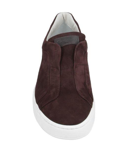 Sneakers & Tennis basses Santoni pour homme en coloris Brown