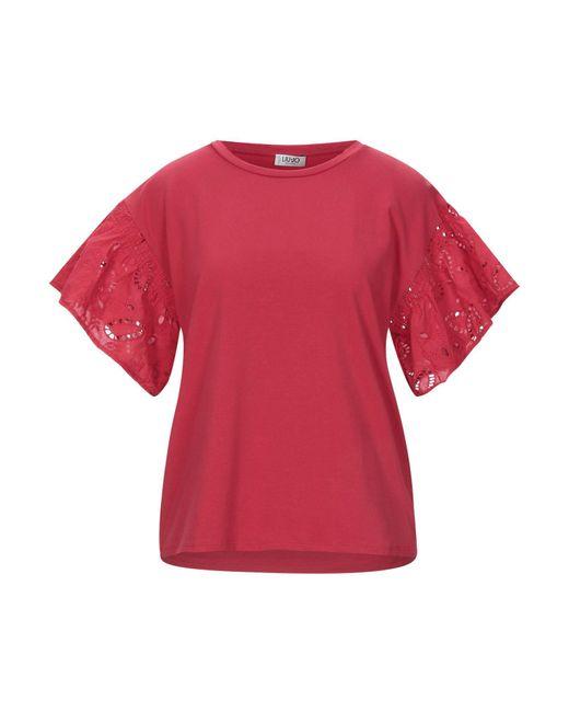 Liu Jo Red T-shirt