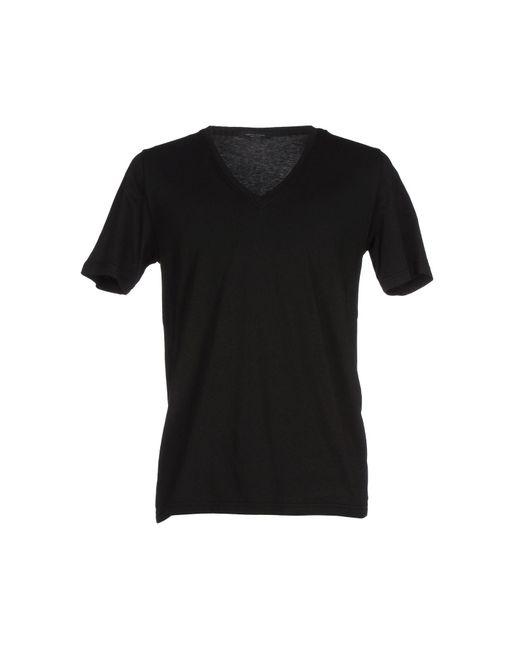 Roberto Collina - Black T-shirts for Men - Lyst
