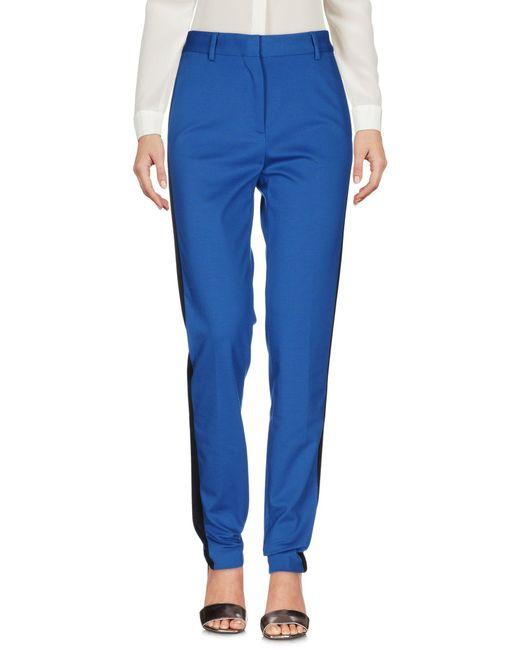 MSGM Blue Casual Pants