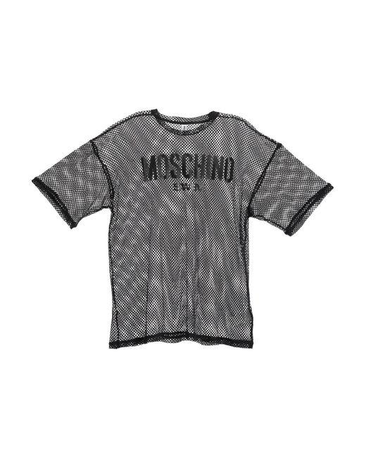 Moschino Black T-shirt for men