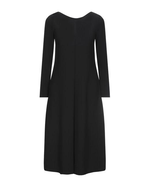 Robe mi-longue Jucca en coloris Black
