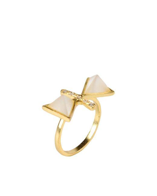 Kevia - Metallic Ring - Lyst