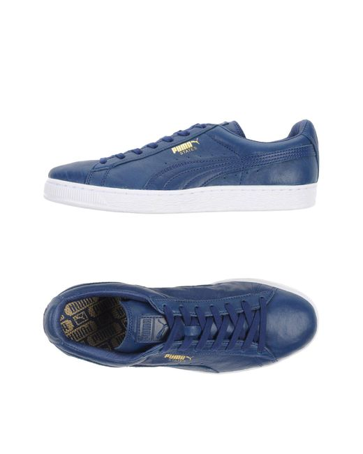 PUMA - Blue Low-tops & Sneakers for Men - Lyst