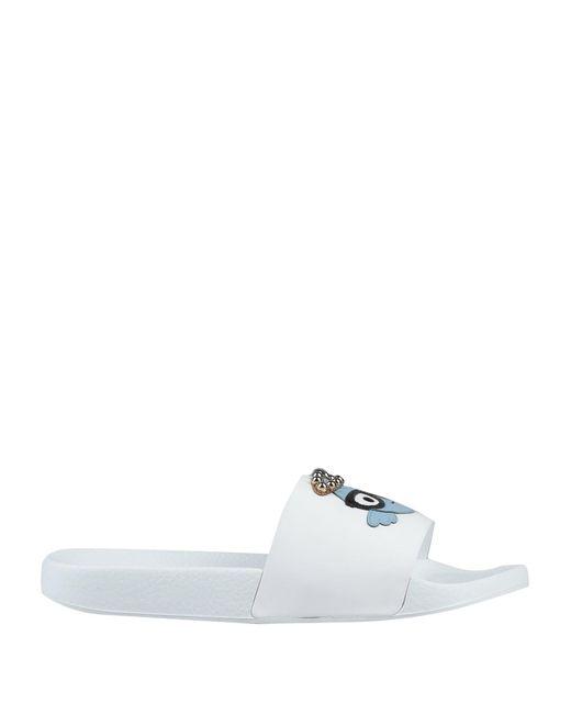 Dolce & Gabbana White Sandals for men