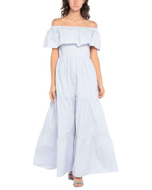 Verdissima Blue Beach Dress