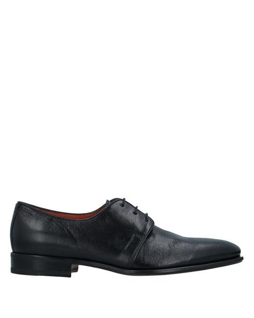 Santoni Schnürschuh in Black für Herren
