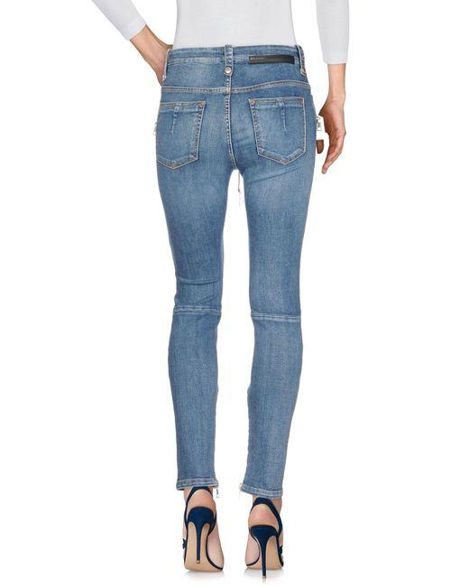 Unravel Project Blue Jeanshose
