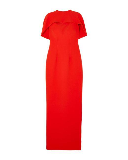 Vestito lungo di Safiyaa in Red