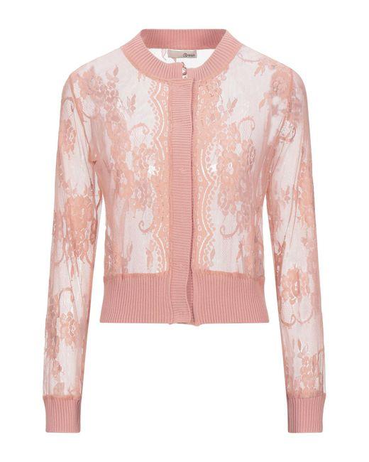 Relish Pink Cardigan