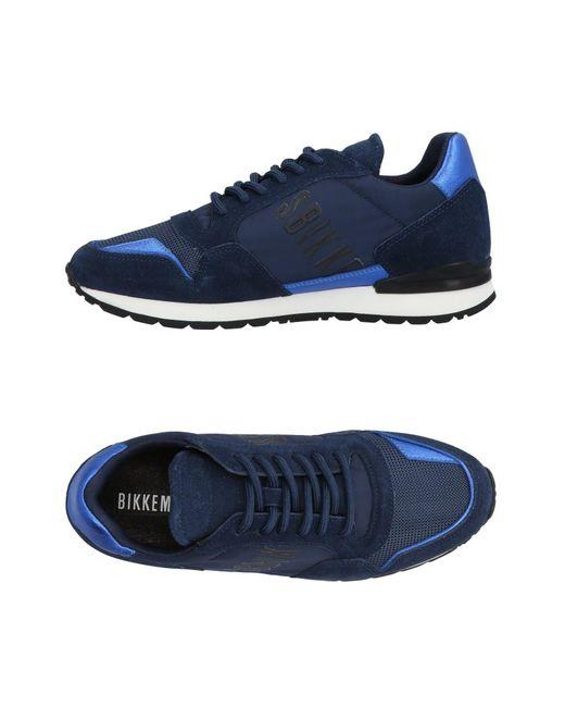 Bikkembergs Blue Low-tops & Sneakers