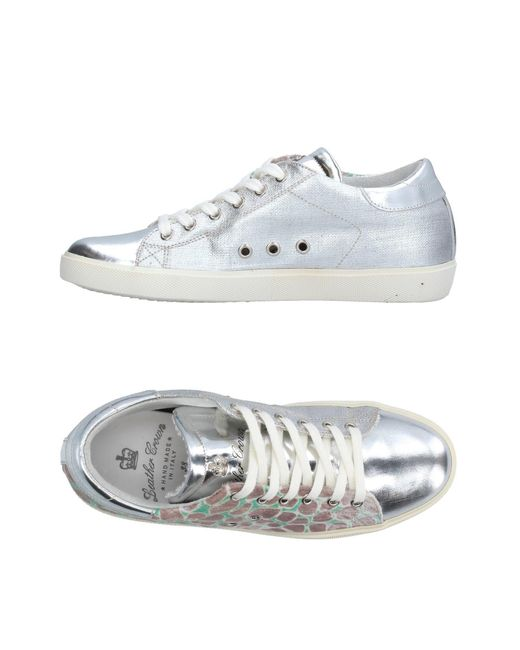 Leather Crown | Metallic Low-tops & Sneakers | Lyst