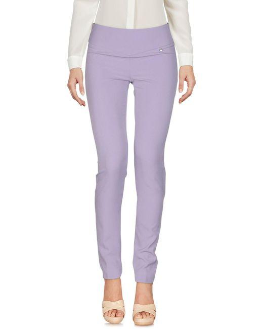 Pantalon Annarita N. en coloris Purple