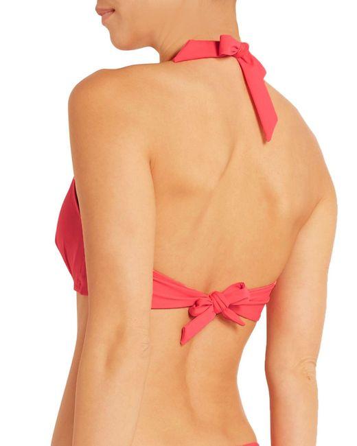 Sujetador bikini Heidi Klein de color Multicolor