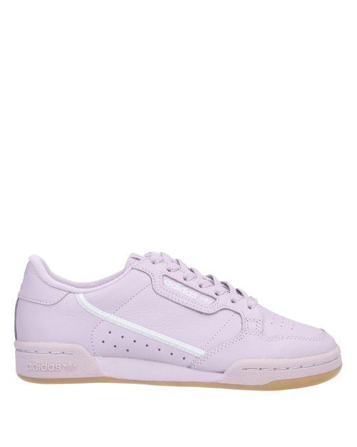 Adidas Originals Purple Low-tops & Sneakers