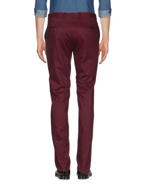 Brian Dales Pantalon homme de coloris violet
