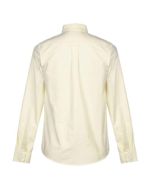 Camisa Carhartt de hombre de color Yellow