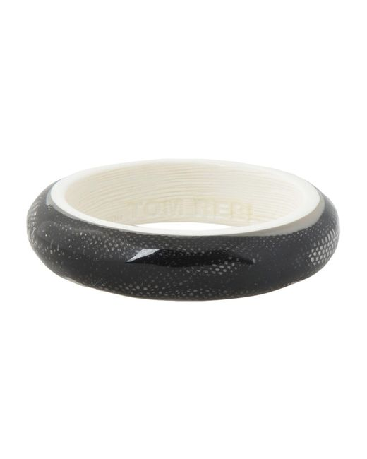Tom Rebl | Black Bracelet | Lyst