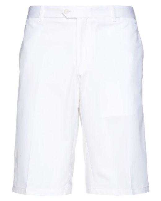 Paul & Shark Bermudashorts in White für Herren