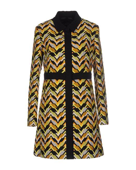 Giambattista Valli | Yellow Overcoat | Lyst