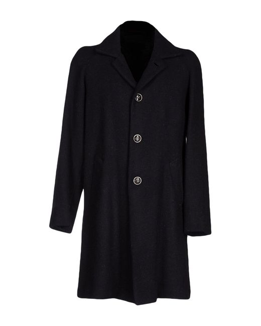 Homme by Michele Rossi | Blue Coat for Men | Lyst