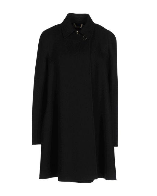 Versace   Black Coat   Lyst