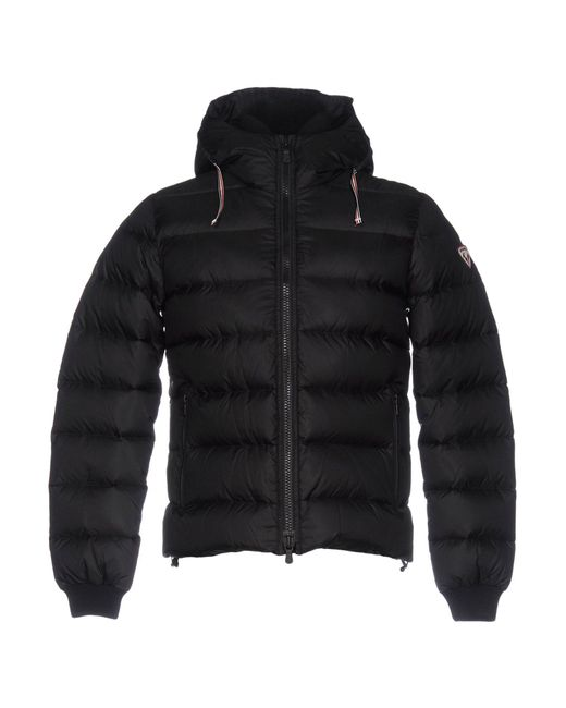Rossignol | Black Down Jacket for Men | Lyst