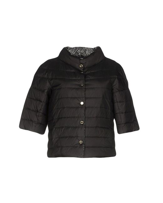 Twin Set | Black Down Jacket | Lyst