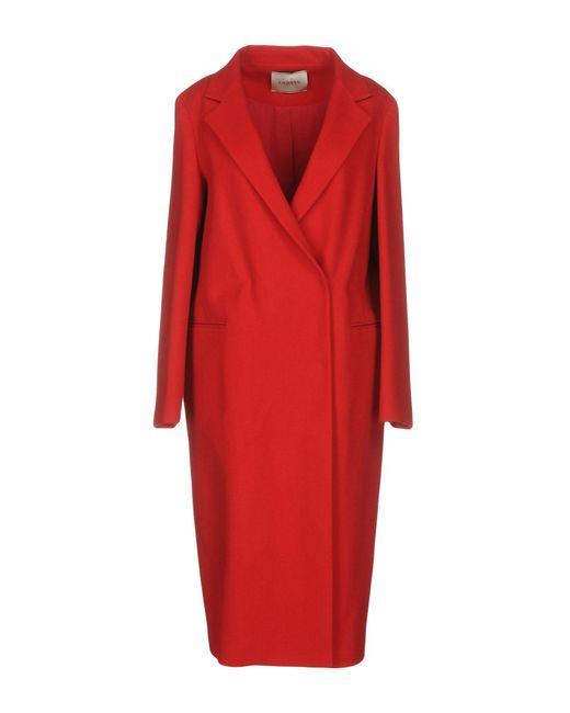 Lanvin   Red Coat   Lyst