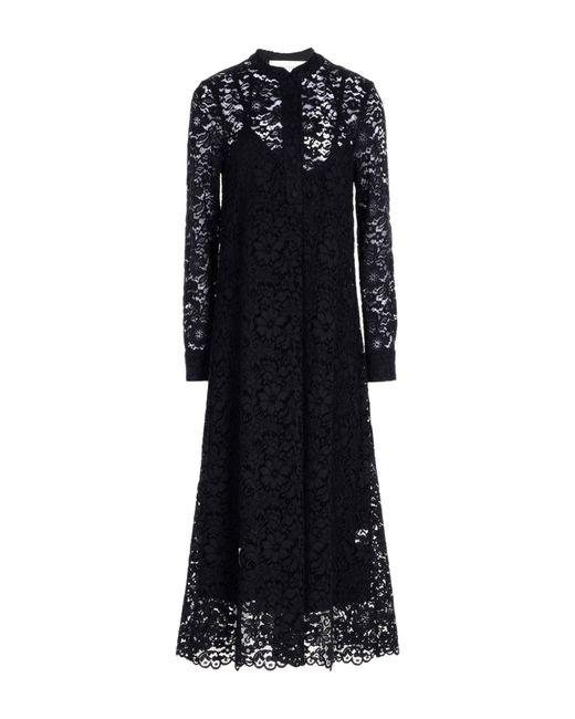 Shirtaporter - Black 3/4 Length Dress - Lyst