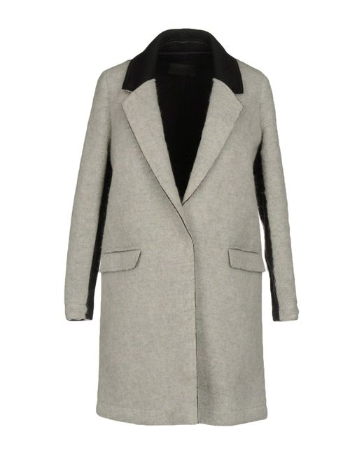 Gertrude + Gaston | Gray Coat | Lyst