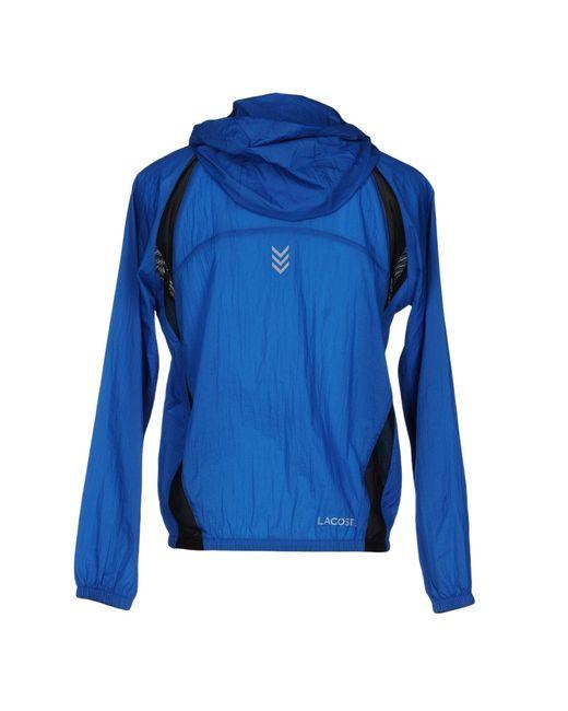 lacoste sport jacket in blue for men lyst. Black Bedroom Furniture Sets. Home Design Ideas