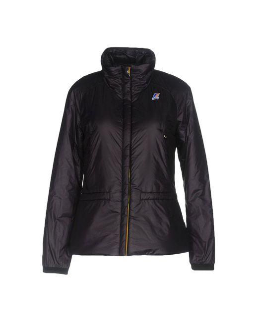 K-Way   Purple Jacket   Lyst