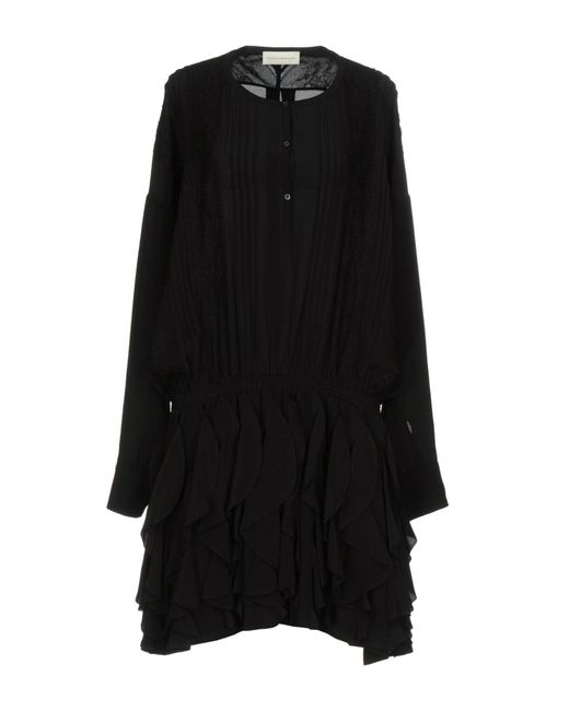 Faith Connexion | Black Short Dress | Lyst