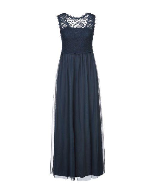 Vila Blue Long Dress