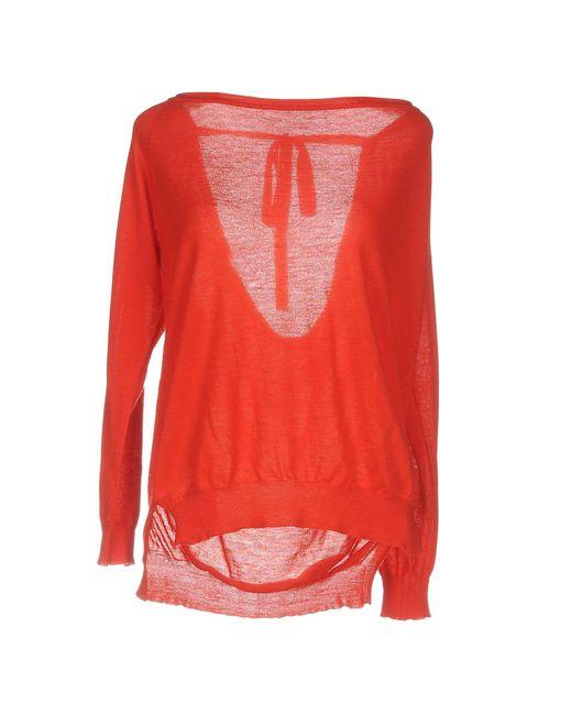 Pullover P.A.R.O.S.H. en coloris Red