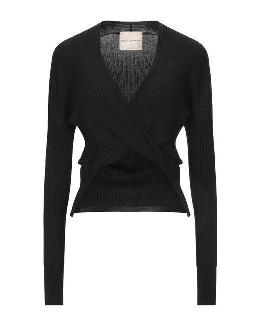 Erika Cavallini Semi Couture Black Pullover